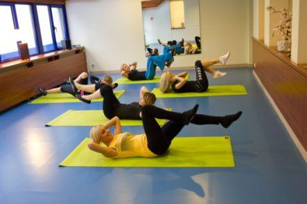 Aerobikos treniruotė SUGIHARA sporto ir sveikatingumo centre